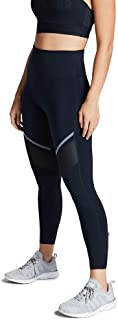 Rockwear Activewear Women's Ag Zip Detail Tight from Size 4-18 for Ankle Grazer High Bottoms Leggings + Yoga Pants+ Yoga Tights