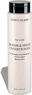 Löwengrip The Cure Repair & Shine Conditioner - Wheat Protein & Castor Oil. Adds Shine. Nourishes & Rehydrates Chemically Treated, Damaged Hair. Sweden's Fastest Growing Beauty Brand - 200 ml