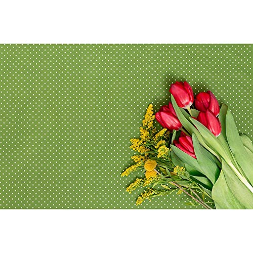 Accesorios de Fondo de fotografía de Vinilo Tema de tablón de Madera y Flor Retrato estéreo Foto de Fondo Disparar A10 10x7ft / 3x2.2m