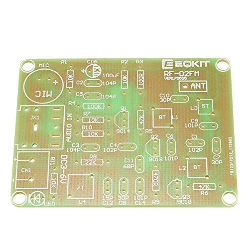 Modulo electronico Micro Transmisor FM kit de transmisor RF-02 de micrófono inalámbrico de piezas MP3 repetidor con la antena 5 x