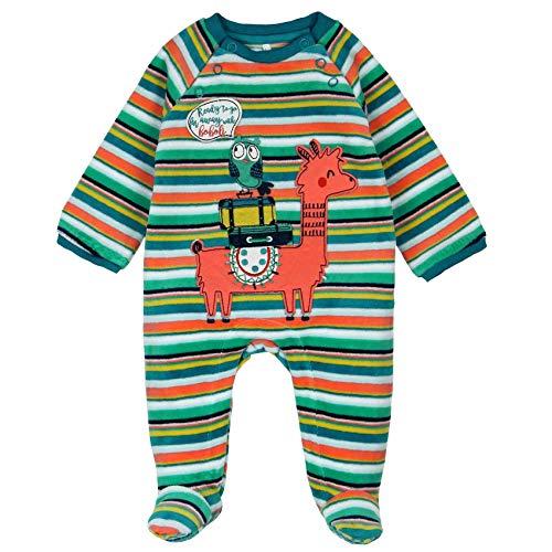 Boboli Unisex Baby Strampler, 146214, Mehrfarbig, 146214 Neugeborene (Tamaño del fabricante 0 Monate)
