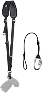 BLACKRAPID Classic Retro (RS4) Camera Strap - 10th Anniversary Edition - Bundled with ZAYKiR Safety Tether