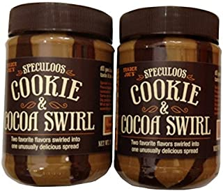 Trader Joes Speculoos Cookie & Cocoa Swirl - Pack of 2