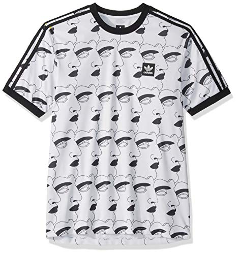 adidas Originals Men's Skate Promoted Jersey, White, XX-Large