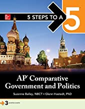 5 Steps to a 5: AP Comparative Government (5 Steps to A 5 on the Advanced Placement Examinations)