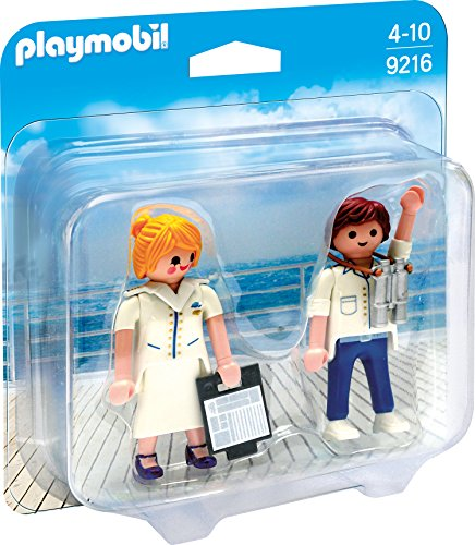 Playmobil 9216 - Duo Pack Stewardess und Offizier