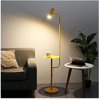 WLP-WF Led Dimmable Télécommande Lampadaire Mode Salon Chambre Chevet Lampadaire Canapé Lampe de Table Basse H142Cm (Coule...