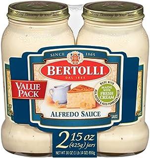 Bertolli Alfredo with Aged Parmesan Cheese Pasta Sauce (2 Pack)