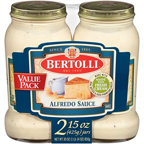Bertolli Alfredo with Aged Parmesan Cheese Pasta Sauce (2 Pack)