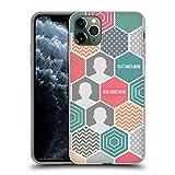 Head Case Designs Personalizada Individualizada Panal Montaje Carcasa de Gel de Silicona Compatible con Apple iPhone 11 Pro MAX