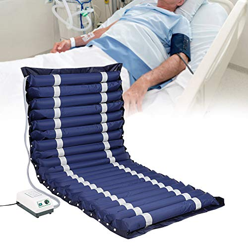 Nicekko matras tegen perslucht, alternatief voor decubitus-strepen, voor eenpersoonsbedden, verzorging, opblaasbare matras, aambeien met pomp