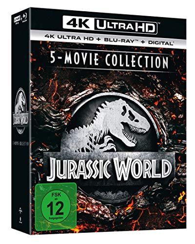 Jurassic World - 5-Movie Collection (4K Ultra HD) [Blu-ray]