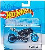 Hot Wheels Bike - 5 Inches (X-Blade Bike Blue)