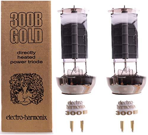 300B EHゴールド 2本マッチ 中パワー 真空管PG22