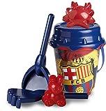 Futbol Club Barcelona- F.C. Barcelona Set Cubo Castillo de 18 cm con Pala (Mondo 311017)
