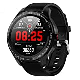 Senbos Montre Connectée IP68 Montre Intelligente Sport avec Moniteur de fréquence Cardiaque Compteur Moniteur De Santé Smartwatch 9 Modes Sportifs Fitness Tracker d'Activité(pour Android iOS )