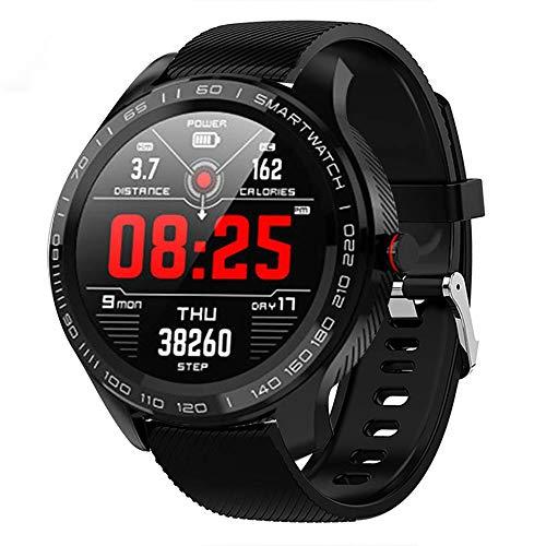 Senbos Slim Horloge 1.3-Inch Full Touch Kleur Scherm sport horloge IP68 Waterdichte Aansluiting APP Herinneren Outdoor Sport met Stappenteller Afstand Afstandsbediening Foto's Health Monitor fitnesstracker