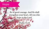 Pass Along Pocket Scripture Cards, Courage, Psalms 31:24, Pack of 25