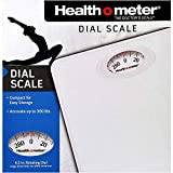 Health o Meter HAB700DQ201 Body Fat/Healthy Weight Maintenance Rotating Dial Home Scale Up to 300 Pounds, White