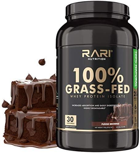RARI Nutrition Whey Protein Isolate Powder 100 Grass Fed 20g Protein Gluten Free Non GMO Superior product image