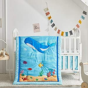 51pSZx9cmoL._SS300_ Nautical Crib Bedding & Beach Crib Bedding Sets