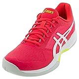 ASICS Women's Gel-Game 7 Tennis Shoes, 5M, Laser Pink/White