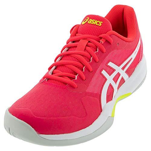 ASICS Women's Gel-Game 7 Tennis Shoes, 5, Laser Pink/White