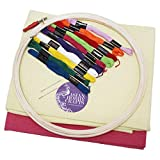 Asian Hobby Crafts Embroidery Kit for Adults and Kids