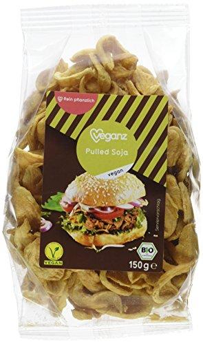 Veganz Bio Pulled Soja, 150 g