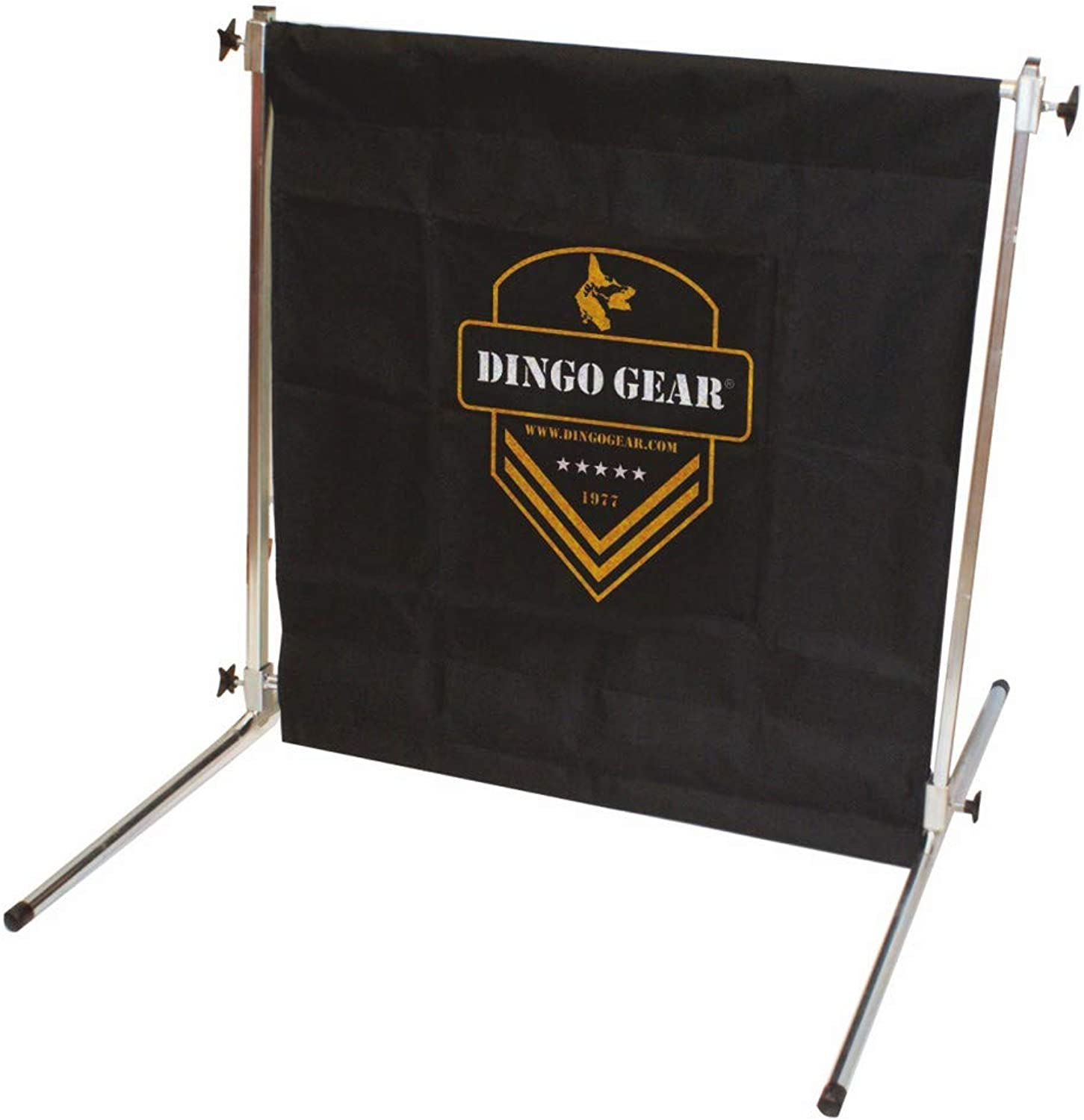 Dingo Gear Hurdle Jump for Dog Training with Height Adjustment to 1 Meter, Obstacle Metal Built with Military Fabric, Handmade IPO Frame S02900