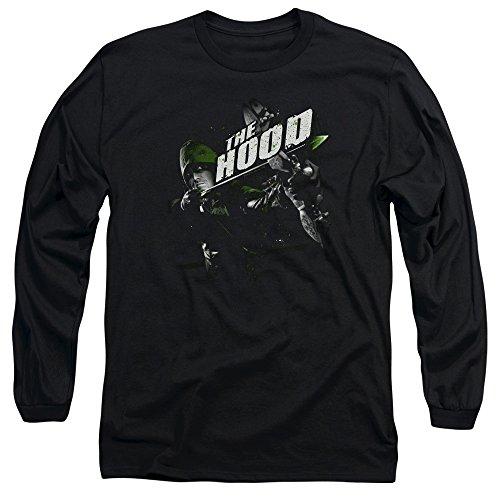 Green Arrow - Take Aim Hommes T-shirt manches longues, X-Large, Black
