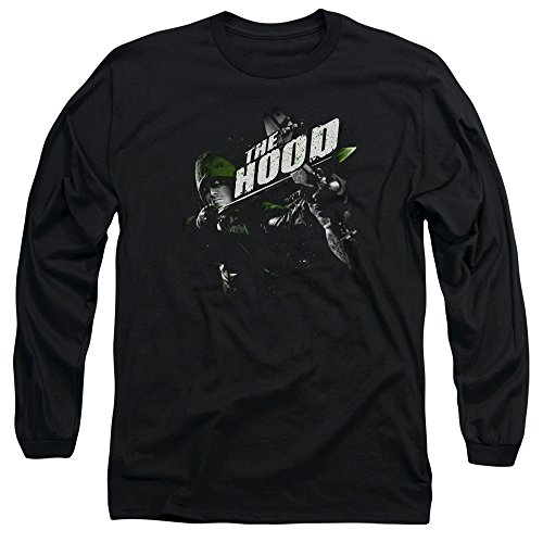 Green Arrow - Take Aim Hommes T-shirt manches longues, X-Large, Black