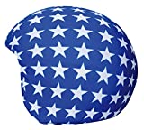 Cool Casc - Funda universal de casco - Estrellas blancas fondo azul