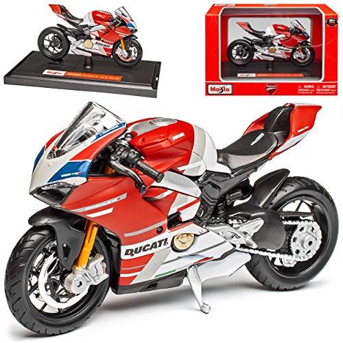 Ducati Panigale V4 S Corse Rot 1/18 Maisto Modell Motorrad