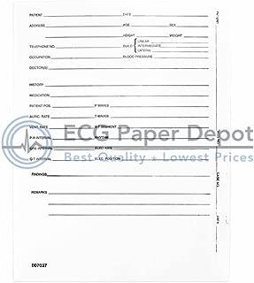 007037 Burdick Compatible ECG EKG Mounting Form, Five Boxes (per case), One Hundred Mounts ber Box, Size 8.5