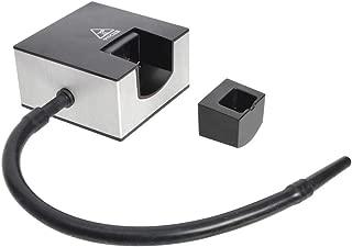 Wancle 燻製器 おうちで簡単燻製「燻煙加香」 自家製燻製器 家庭用 手作り 乾電池式 コンパクト(シルバー)