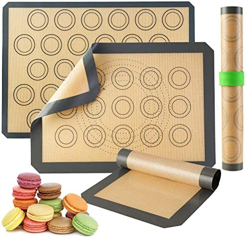 Silicone Baking Mats Non Stick Cookie Sheet Macaron Mat Liner for Bake Pans Rolling Perfect product image