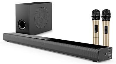 Soundbar tv 5.1 canali con subwoofer e soundbar home theater bluetooth 4.1 surround subwoofer da 6,5 ??pollici LYYX3658