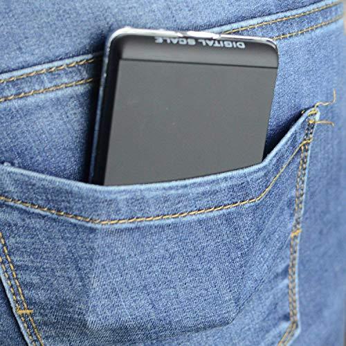 『最新版 携帯タイプ ポケットデジタル スケール 0.01g-200g精密 業務用(プロ用) デジタルスケール 電子天秤[1ヶ月の保証]』の3枚目の画像