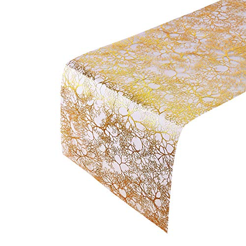 "Branches Design Table Runners | for Upscale Wedding and Dining | 12"" X 108"" 