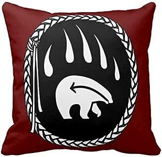 Tribal Bear Art First Nations Bears R3fb12d87c698420880b89efea66eb0a8 I5fqz 8byvr Pillow Case