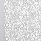 Fabulous Fabrics Tüllspitze wollweiß, 120cm breit –