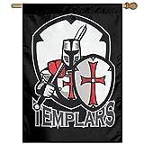 Eriesy Flagge Fahnen Templar Badge Garden Flag Garden Decor Decorative Flags Holiday Flag