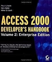 Access 2000 Developer's Handbook, Volume 2: Enterprise Edition