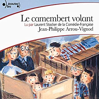 Couverture de Le camembert volant