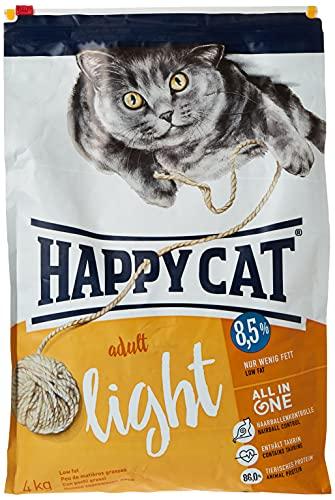 Happy Cat Fit/Well Light Croquette pour Chat Adulte 4 kg