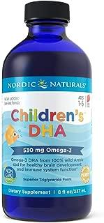 Nordic Naturals - Children's DHA, Healthy Cognitive Development and Immune Function, 8 Fl Oz