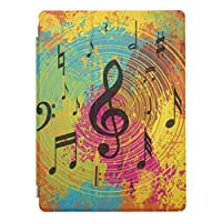 RECASO 色 爆発 明るい音楽ノート アイパッドミニ5 ケース ipad mini5 ケース ipadmini5 カバー ipadミニ5ケース ipad mini 5 ケース apple ipad mini 5