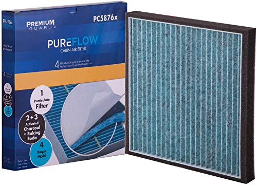 PureFlow Cabin Air Filter PC5876X   Fits 2007-15 Ford Edge, 2007-15 Lincoln MKX, 2008 MKZ, 2007-15 Mazda CX-9