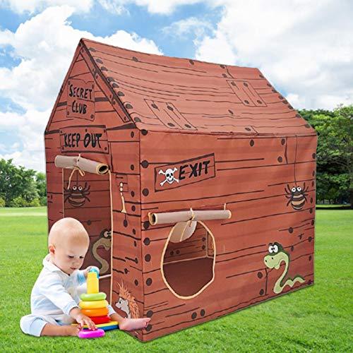 Raspbery Tienda Infantil para niños pequeños - Casa de Juegos Interior y Exterior - Casa de Juegos portátil - 18 Meses +